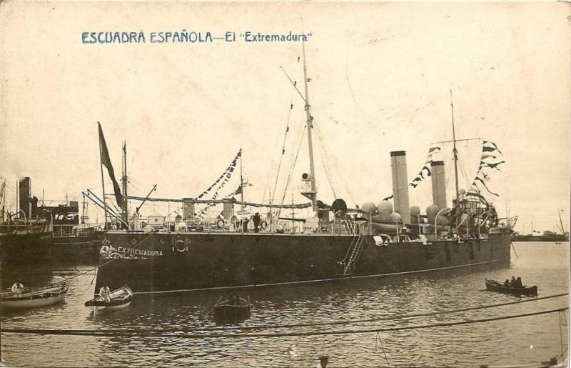 Croiseurs espagnols Extrem10