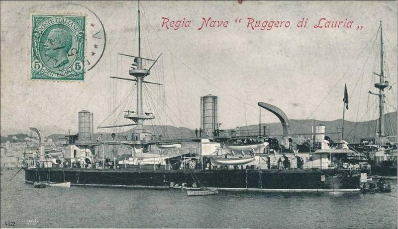 Cuirassés italiens Rugger10