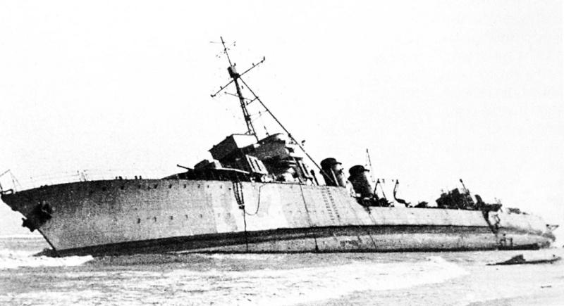 Les torpilleurs français Trombe15