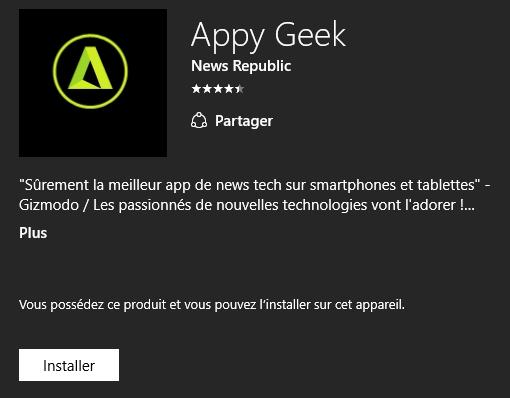 [INFO] Appy Geek a disparu des écrans radars pour Microsoft Appy_g10