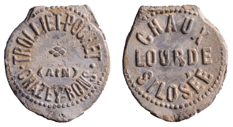 Dept:01 Ain Chaux lourde Trolliet-Pochet à Chazey-Bons D501510
