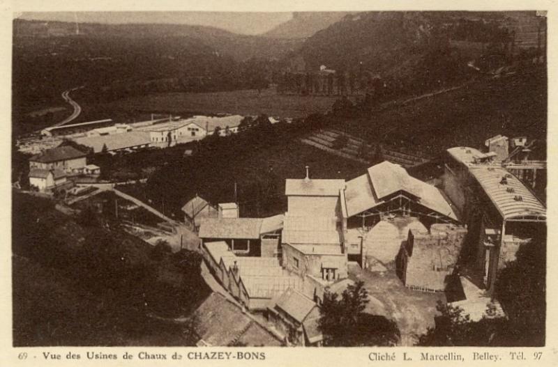 Dept:01 Ain Chaux lourde Trolliet-Pochet à Chazey-Bons D5015a10