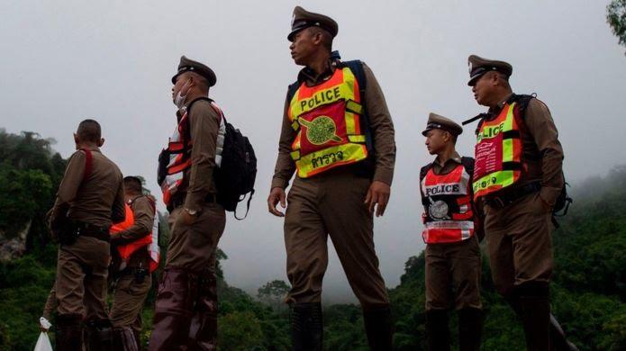 """أطفال الكهف"""" في تايلاند: إنقاذ جميع العالقين بعد 17 يوما من المعاناة 1753df10"""