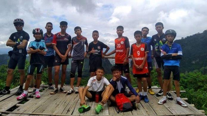 """أطفال الكهف"""" في تايلاند: إنقاذ جميع العالقين بعد 17 يوما من المعاناة Ac835a10"""