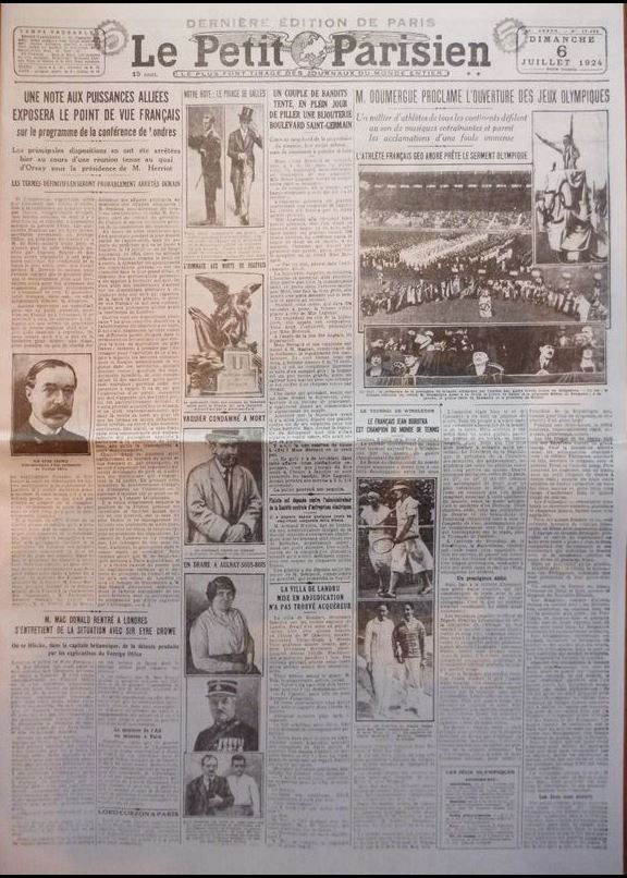 JEUX OLYMPIQUES PARIS 1924 Captur13