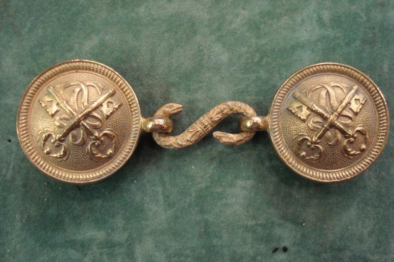 Boucle de ceinture zouave pontificaux Dsc01115