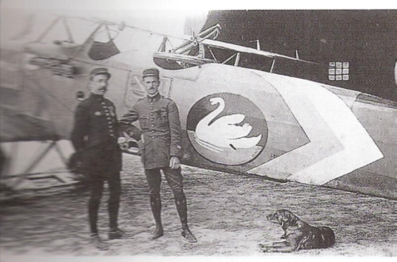 Französischer Flugsimulator 1918 - Diorama Maßstab 1:16 Pilote10