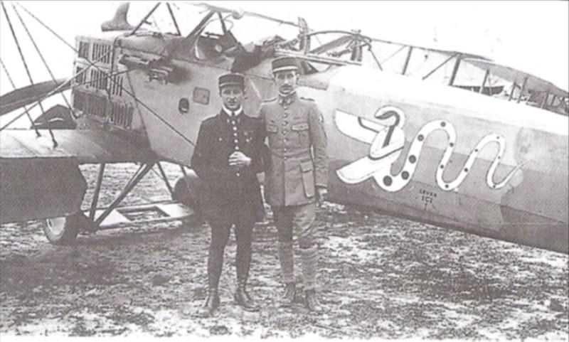 Französischer Flugsimulator 1918 - Diorama Maßstab 1:16 Pilote12