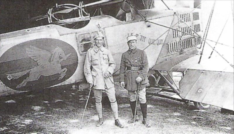 Französischer Flugsimulator 1918 - Diorama Maßstab 1:16 Pilote14