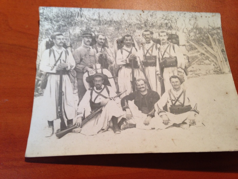 Lot de photos 4eme regiment de zouaves ESC 1  Vendu Image49