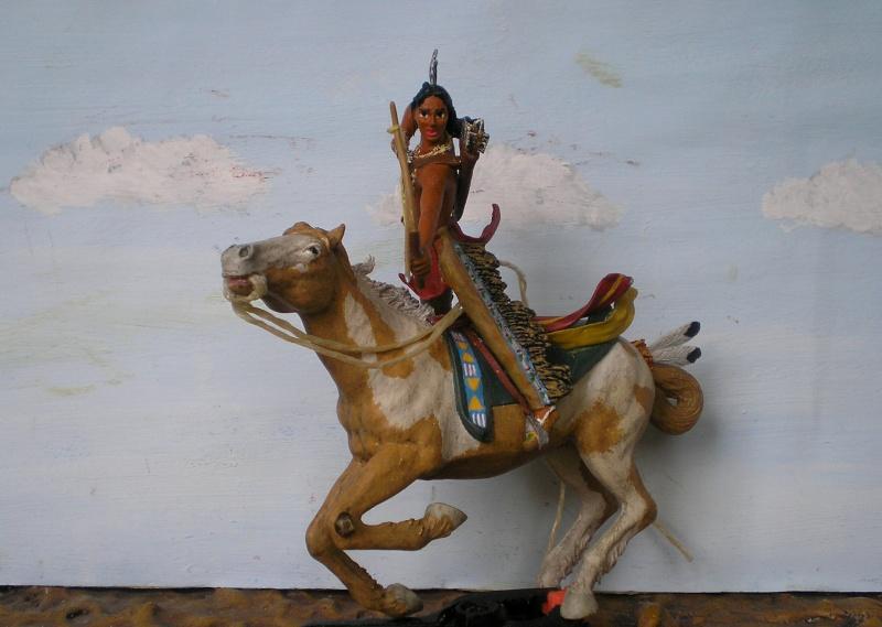Bemalungen, Umbauten, Modellierungen – neue Indianer für meine Dioramen - Seite 5 113f3c10