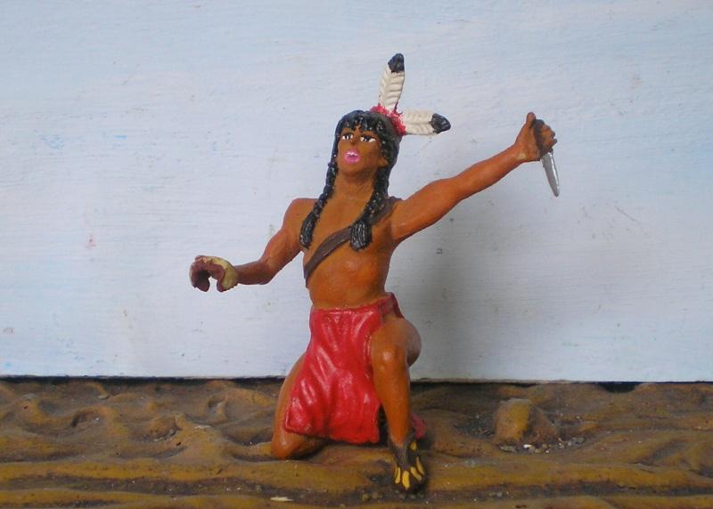 Bemalungen, Umbauten, Modellierungen – neue Indianer für meine Dioramen - Seite 5 115a2e10