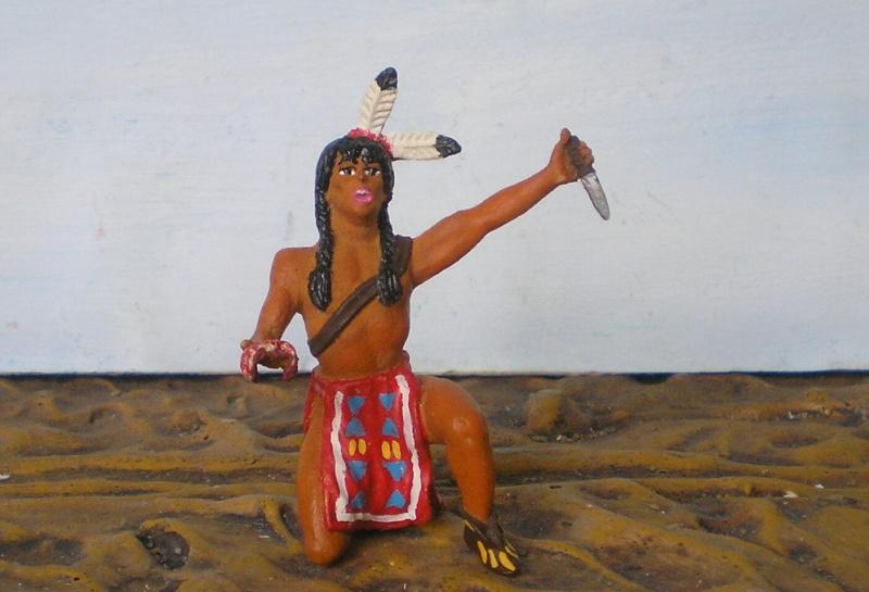 Bemalungen, Umbauten, Modellierungen – neue Indianer für meine Dioramen - Seite 5 115a2g10