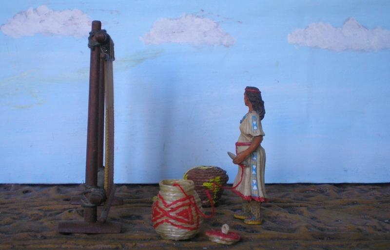 Bemalungen, Umbauten, Modellierungen – neue Indianer für meine Dioramen - Seite 5 154e2b10