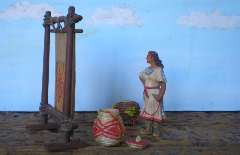 Bemalungen, Umbauten, Modellierungen – neue Indianer für meine Dioramen - Seite 5 154e2c10