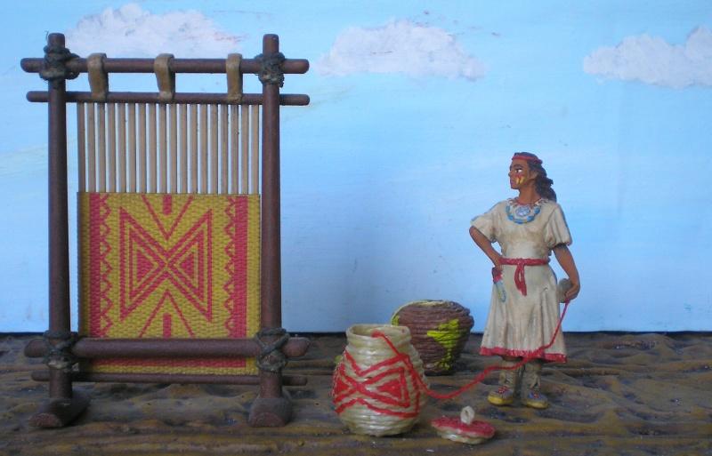 Bemalungen, Umbauten, Modellierungen – neue Indianer für meine Dioramen - Seite 5 154e2d10