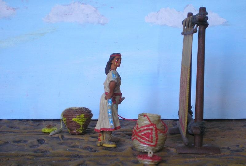Bemalungen, Umbauten, Modellierungen – neue Indianer für meine Dioramen - Seite 5 154e2f10