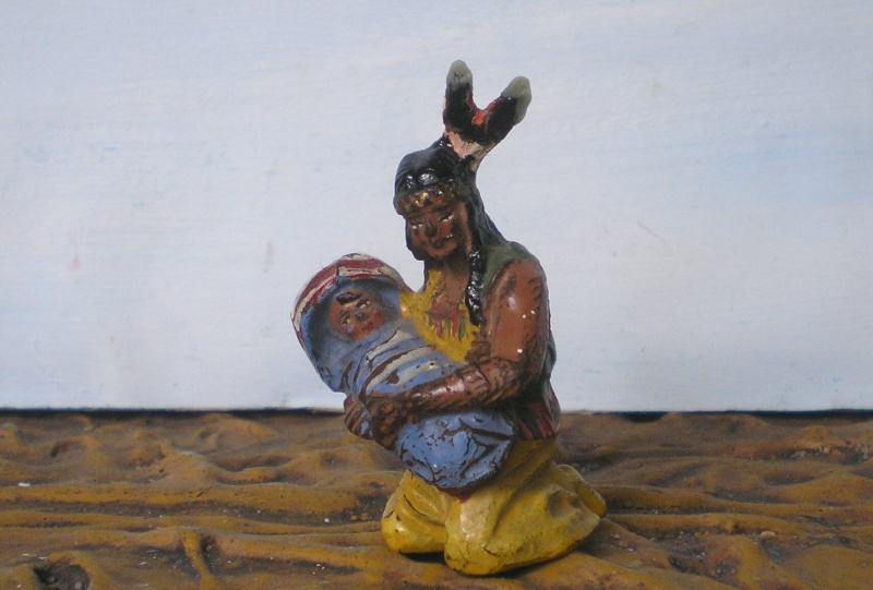 Bemalungen, Umbauten, Modellierungen – neue Indianer für meine Dioramen - Seite 4 214d2a10