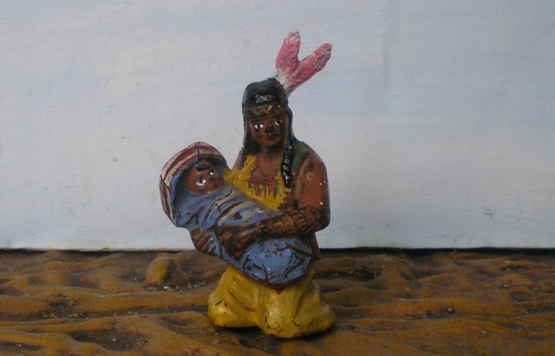 Bemalungen, Umbauten, Modellierungen – neue Indianer für meine Dioramen - Seite 4 214d3a10