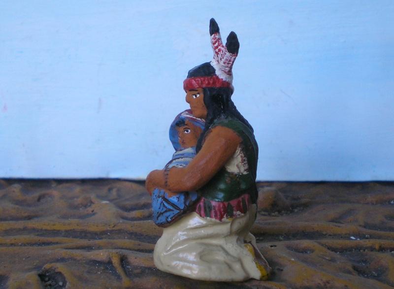 Bemalungen, Umbauten, Modellierungen – neue Indianer für meine Dioramen - Seite 5 214d3d11