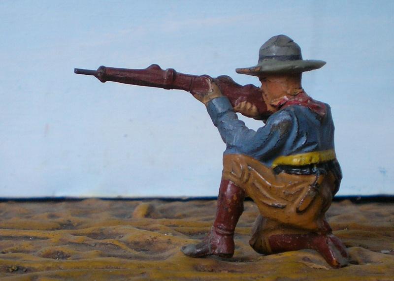 Bemalungen, Umbauten, Modellierungen - neue Cowboys für meine Dioramen - Seite 2 214e3b10