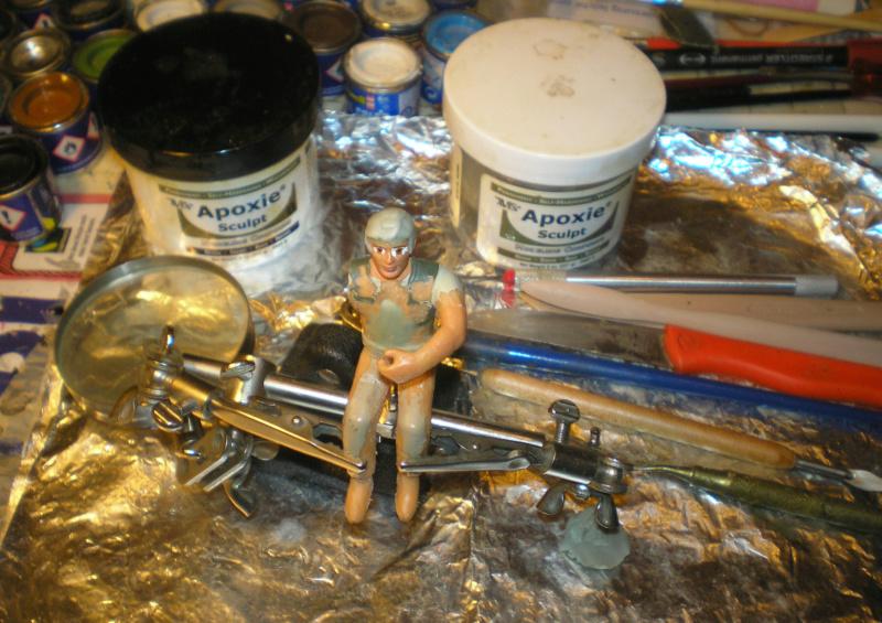 Bemalungen, Umbauten, Modellierungen - neue Cowboys für meine Dioramen - Seite 13 304c4a10