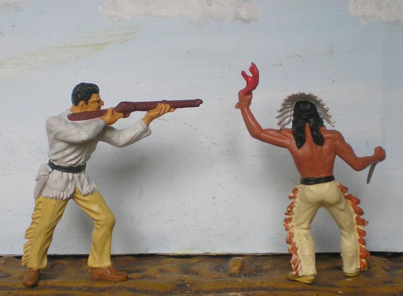 Bemalungen, Umbauten, Modellierungen – neue Indianer für meine Dioramen - Seite 14 312a1b10