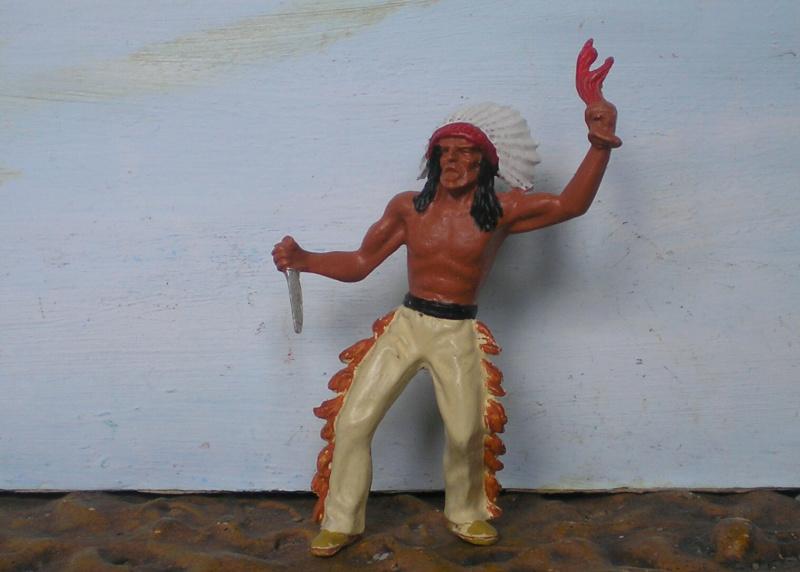 Bemalungen, Umbauten, Modellierungen – neue Indianer für meine Dioramen - Seite 14 313b1a10