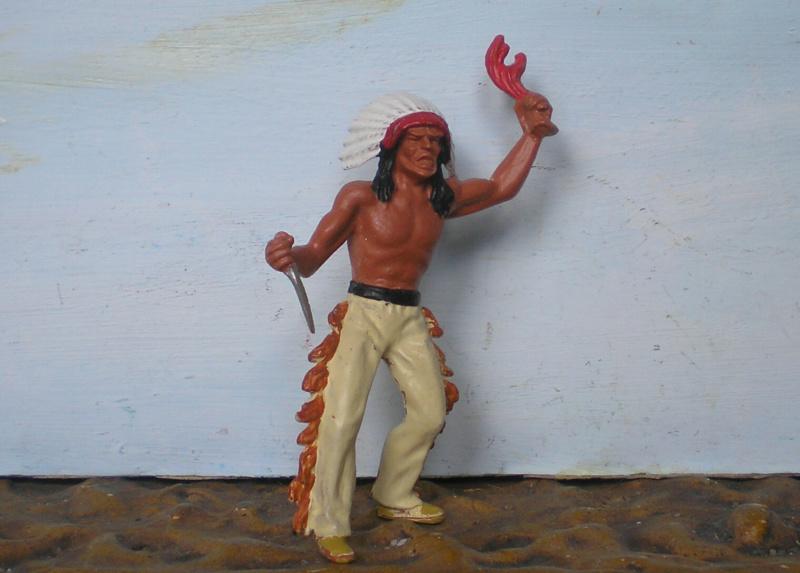 Bemalungen, Umbauten, Modellierungen – neue Indianer für meine Dioramen - Seite 14 313b1b10
