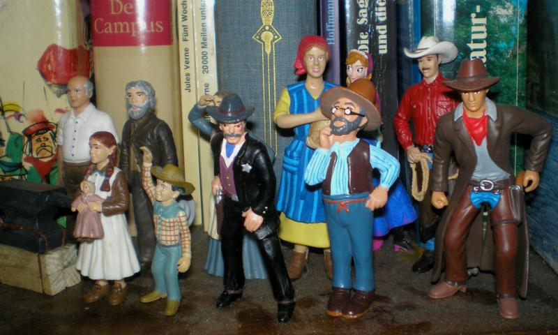 Bemalungen, Umbauten, Modellierungen - neue Cowboys für meine Dioramen - Seite 12 Bullyl14