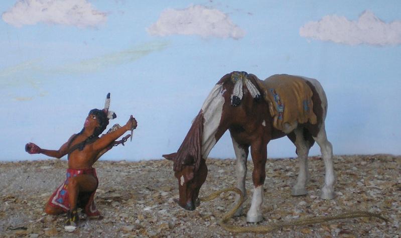 Bemalungen, Umbauten, Modellierungen – neue Indianer für meine Dioramen - Seite 5 Diedho11