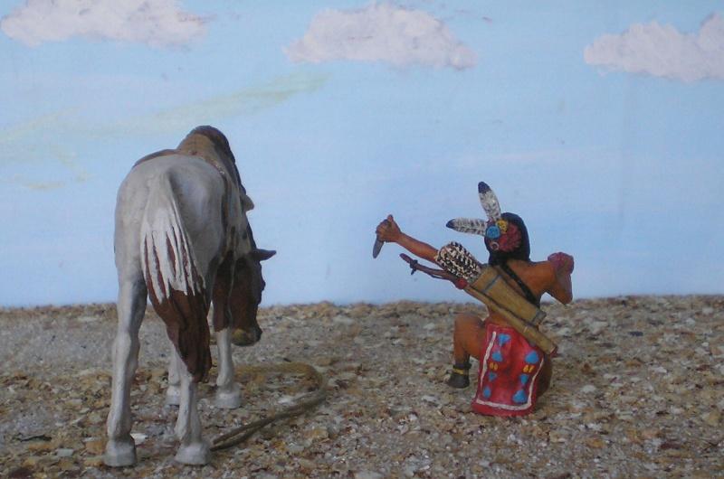 Bemalungen, Umbauten, Modellierungen – neue Indianer für meine Dioramen - Seite 5 Diedho16