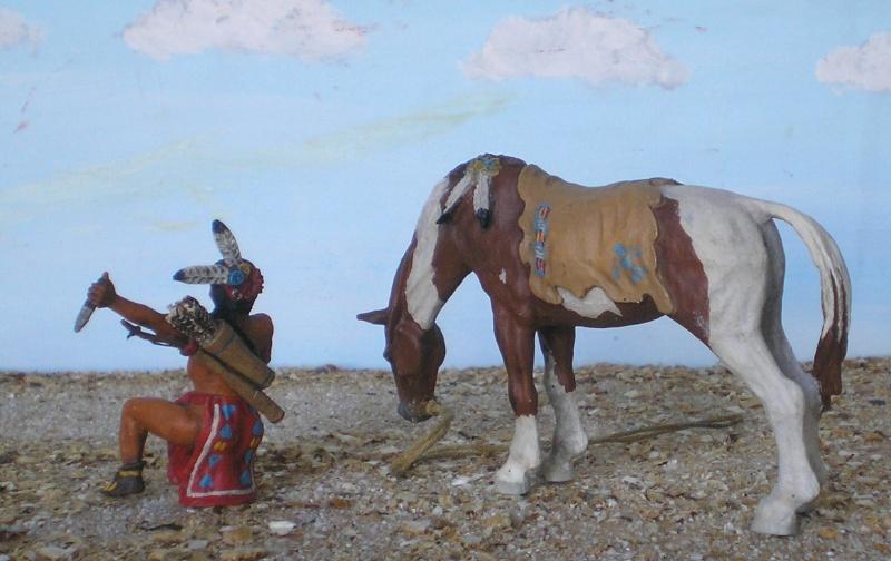 Bemalungen, Umbauten, Modellierungen – neue Indianer für meine Dioramen - Seite 5 Diedho17