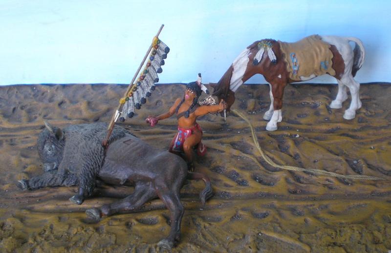 Bemalungen, Umbauten, Modellierungen – neue Indianer für meine Dioramen - Seite 5 Diedho19