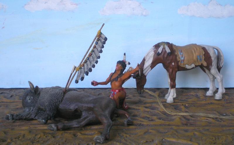 Bemalungen, Umbauten, Modellierungen – neue Indianer für meine Dioramen - Seite 5 Diedho20
