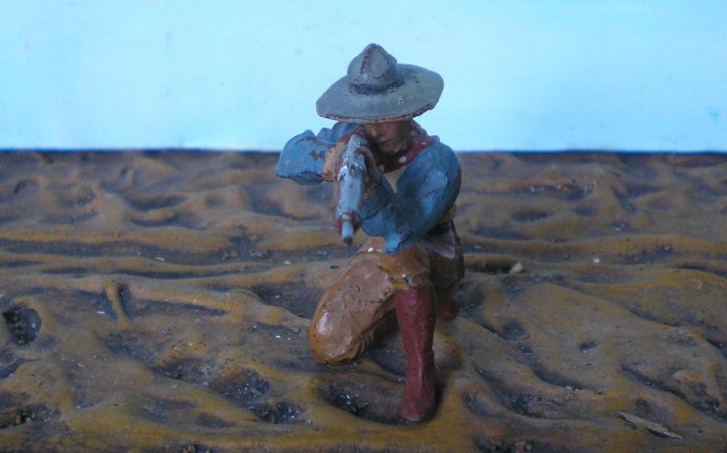 Bemalungen, Umbauten, Modellierungen - neue Cowboys für meine Dioramen - Seite 2 Elasto10