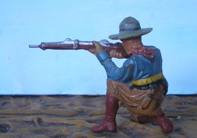 Bemalungen, Umbauten, Modellierungen - neue Cowboys für meine Dioramen - Seite 2 Elasto11