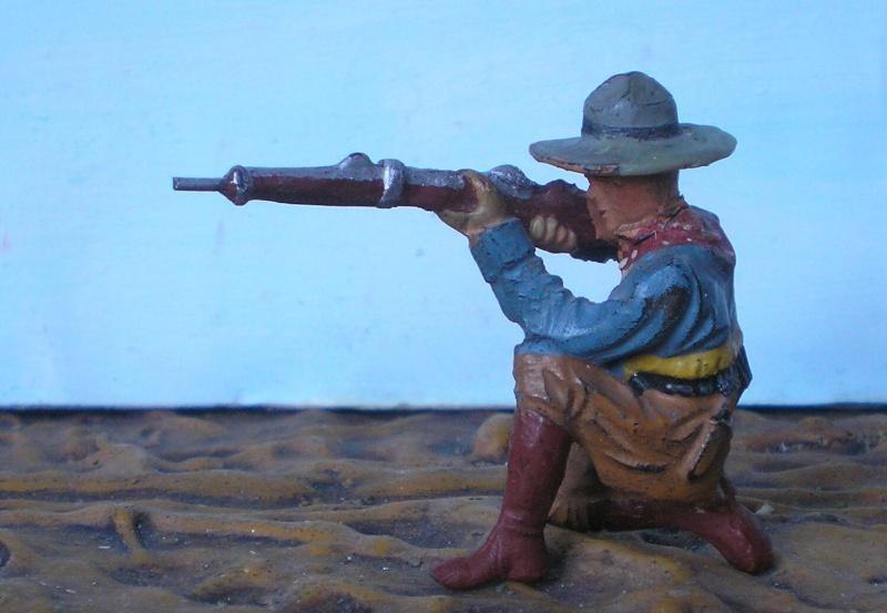 Bemalungen, Umbauten, Modellierungen - neue Cowboys für meine Dioramen - Seite 2 Elasto12