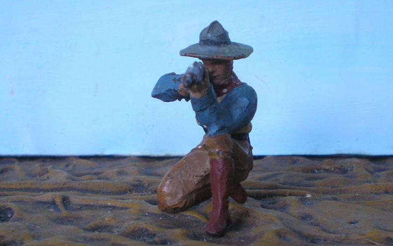 Bemalungen, Umbauten, Modellierungen - neue Cowboys für meine Dioramen - Seite 2 Elasto13
