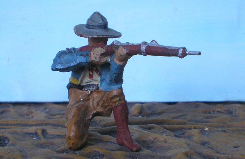 Bemalungen, Umbauten, Modellierungen - neue Cowboys für meine Dioramen - Seite 2 Elasto14