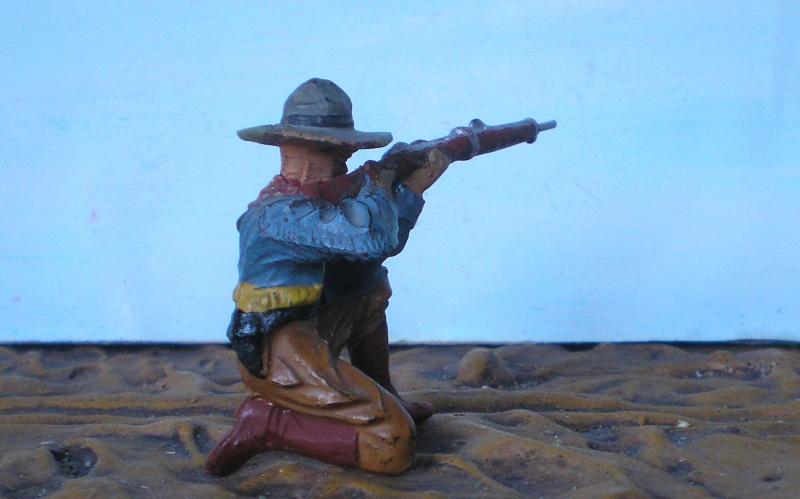 Bemalungen, Umbauten, Modellierungen - neue Cowboys für meine Dioramen - Seite 2 Elasto16