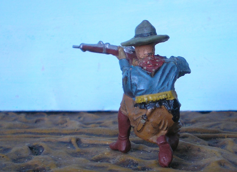 Bemalungen, Umbauten, Modellierungen - neue Cowboys für meine Dioramen - Seite 2 Elasto18