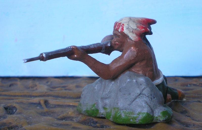 Bemalungen, Umbauten, Modellierungen – neue Indianer für meine Dioramen - Seite 4 Elasto20