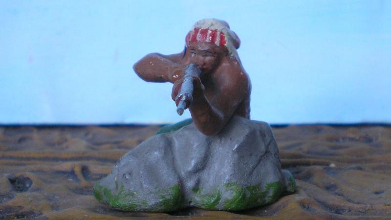 Bemalungen, Umbauten, Modellierungen – neue Indianer für meine Dioramen - Seite 4 Elasto21