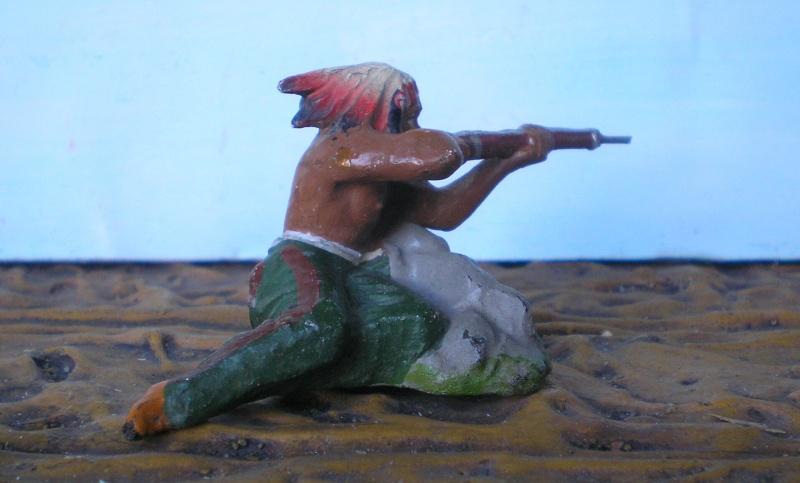 Bemalungen, Umbauten, Modellierungen – neue Indianer für meine Dioramen - Seite 4 Elasto24
