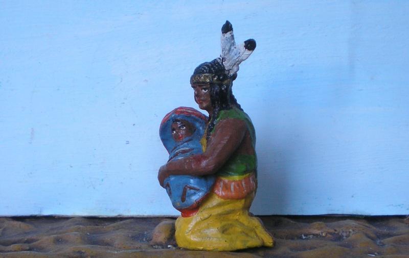 Bemalungen, Umbauten, Modellierungen – neue Indianer für meine Dioramen - Seite 4 Elasto30