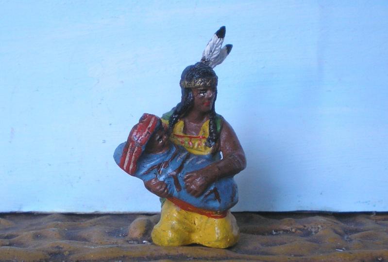 Bemalungen, Umbauten, Modellierungen – neue Indianer für meine Dioramen - Seite 4 Elasto32
