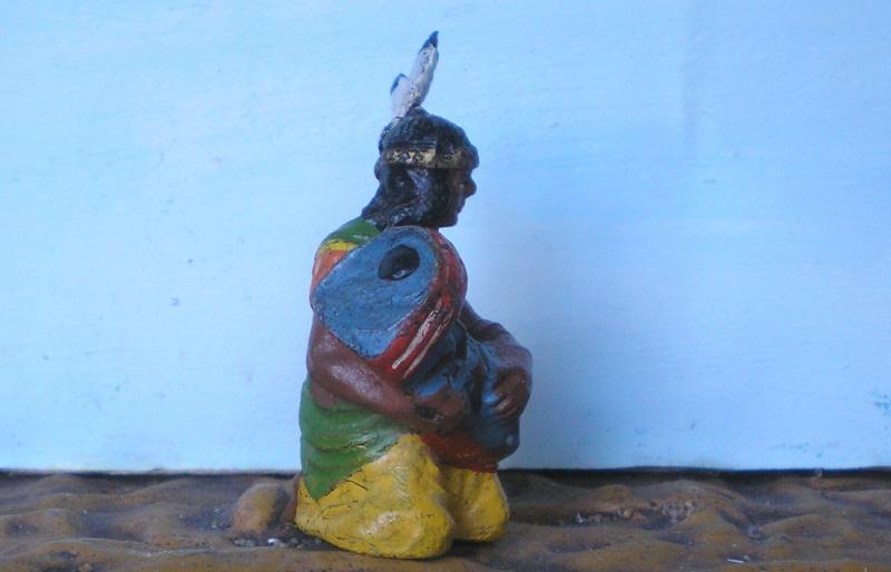 Bemalungen, Umbauten, Modellierungen – neue Indianer für meine Dioramen - Seite 4 Elasto33