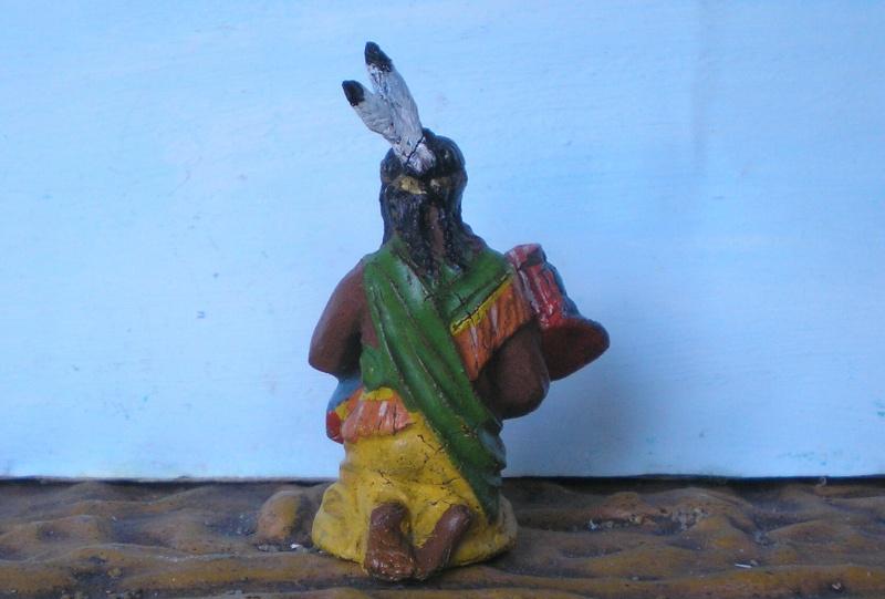 Bemalungen, Umbauten, Modellierungen – neue Indianer für meine Dioramen - Seite 4 Elasto36