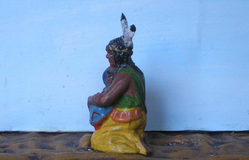 Bemalungen, Umbauten, Modellierungen – neue Indianer für meine Dioramen - Seite 4 Elasto37
